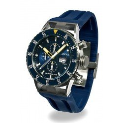 Acheter Montre Locman Homme Montecristo Professional Diver Chronographe 051200BYBLNKSIB