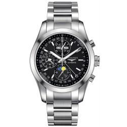 Acheter Montre Longines Homme Conquest Classic Chronograph Automatic L27984526