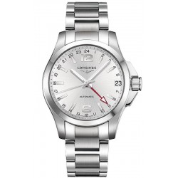 Montre Longines Homme Conquest L36874766 GMT Automatique