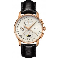 Acheter Montre Mido Homme Baroncelli II Chronograph Moonphase Automatic M86073M142