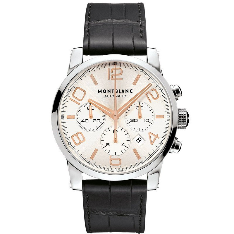 montre pour homme montblanc timewalker chronograph. Black Bedroom Furniture Sets. Home Design Ideas