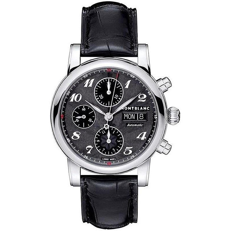 montre pour homme montblanc star chronograph automatic. Black Bedroom Furniture Sets. Home Design Ideas
