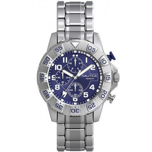 Acheter Montre Nautica Homme NSR 104 NAD16003G Chronographe