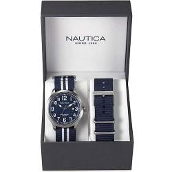 Acheter Montre Nautica Femme NCC 01 Date Box Set NAI11509G