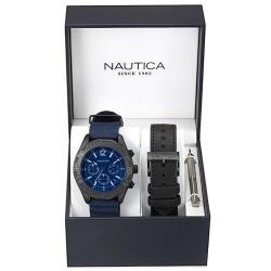 Acheter Montre Nautica Femme NST 402 Box Set NAI22508G Chronographe