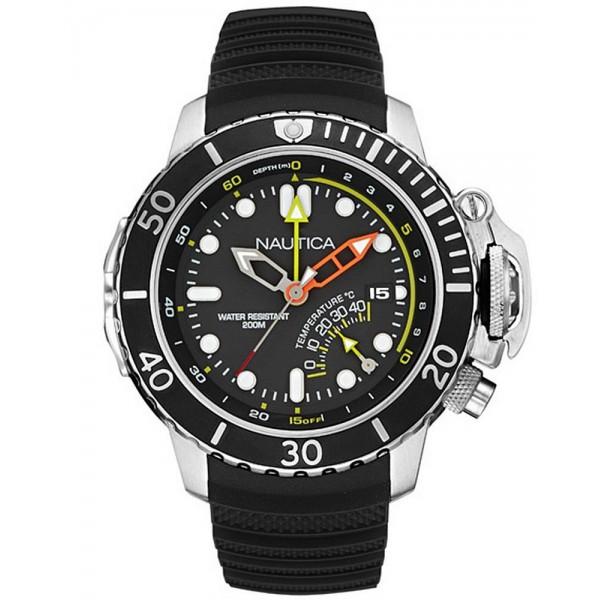 Acheter Montre Nautica Homme NMX Diver Multifonction NAI47500G
