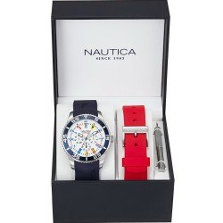 Montre Nautica Homme NST 07 Flag NAI13502G Multifonction