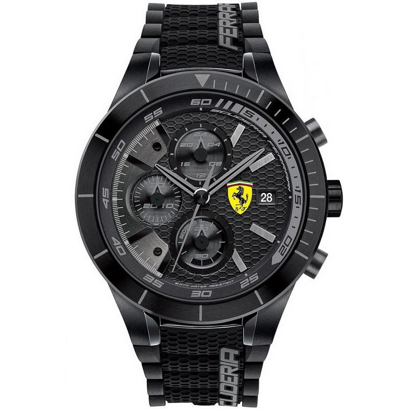 Scuderia Ferrari Men S Watch Red Rev Evo Chrono 0830262 New Fashion Jewels