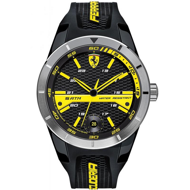 Scuderia Ferrari Men S Watch Red Rev T 0830277 New Fashion Jewels