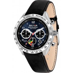 Montre Sector Homme 695 Eco-Energy R3271613002 Chronographe Solaire