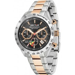 Montre Sector Homme 695 Eco-Energy R3273613001 Chronographe Solaire
