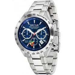 Montre Sector Homme 695 Eco-Energy R3273613004 Chronographe Solaire