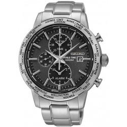 Montre Seiko Homme SPL049P1 World Time Chronographe Alarm Quartz