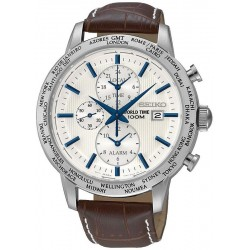 Montre Seiko Homme World Time Chronographe Alarm Quartz SPL051P1