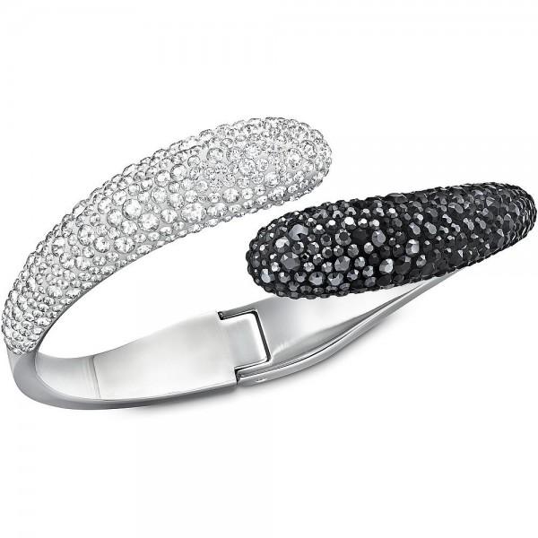 Acheter Bracelet Swarovski Femme Louise Black and White 5017138