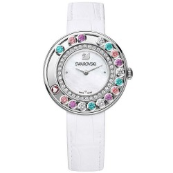 Swarovski 5183955 New Lovely Crystals Multi-Colored Nacre Montre Femme