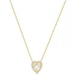 Collier Swarovski Femme Sparkling Dance Heart 5284190