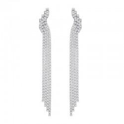 Boucles d'Oreilles Swarovski Femme Fit 5409450