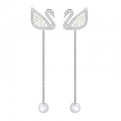 Boucles d'Oreilles Swarovski Femme Iconic Swan 5429270