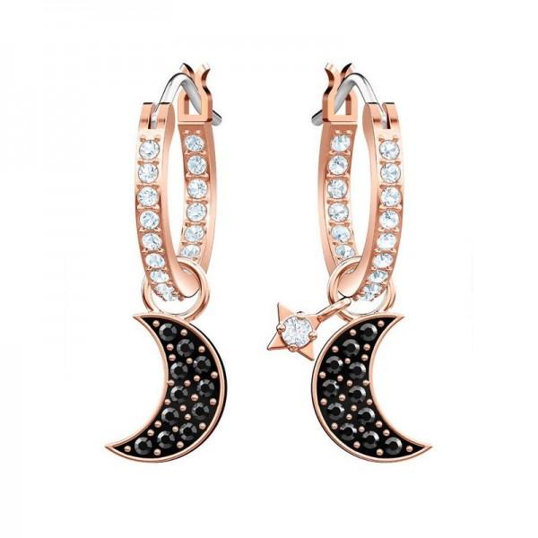 Acheter Boucles d'Oreilles Swarovski Femme Duo Moon 5440458