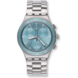 Montre Swatch Unisex Irony Chrono Clear Water YCS589G