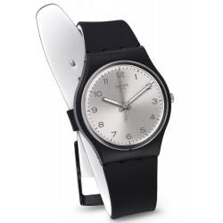 Montre Swatch Unisex Gent Silver Friend Too GB287
