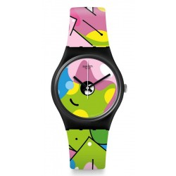 Montre Swatch Femme Gent Image Of Graffiti GB317