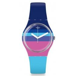 Acheter Montre Swatch Femme Gent Azul'Heure GE260