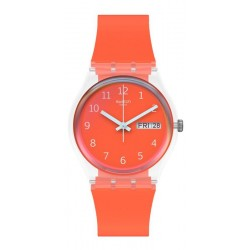 Montre Swatch Unisex Gent Red Away GE722