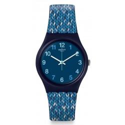 Montre Swatch Femme Gent Trico'Blue GN259