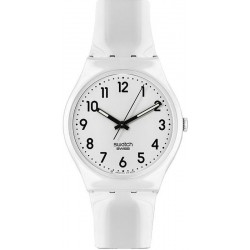 Montre Swatch Unisex Gent Just White GW151