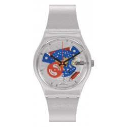 Montre Swatch Gent Take Me To The Moon NASA GZ355