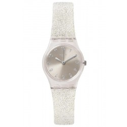 Montre Swatch Femme Lady Silver Glistar Too LK343E