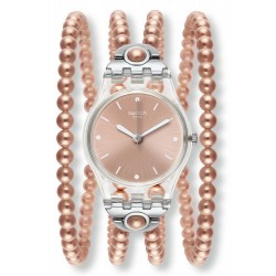 Montre Swatch Femme Lady Pink Prohibition LK354