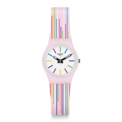Montre Swatch Femme Lady Pink Mixing LP155