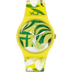 Montre Swatch Femme New Gent Limbo Dance SUOJ104
