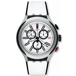 Acheter Montre Swatch Homme Irony Xlite Black Wheel YYS4005 Chronographe