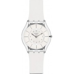 Montre Swatch Femme Skin Classic White Classiness SFK360