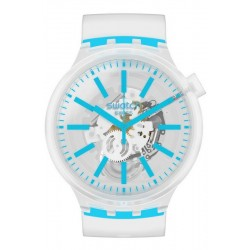 Montre Swatch Big Bold Blueinjelly SO27E105
