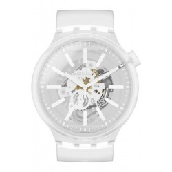 Montre Swatch Big Bold Whiteinjelly SO27E106