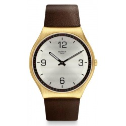 Montre Swatch Homme Skin Irony Skin Suit Coffee SS07G100