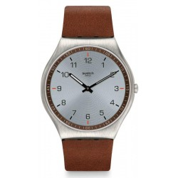 Montre Swatch Homme Skin Irony Skin Suit Brown SS07S108