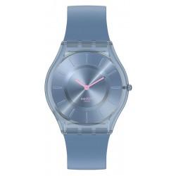 Montre Swatch Femme Skin Classic Denim Blue SS08N100