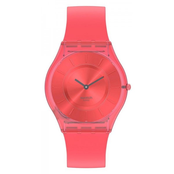 Acheter Montre Swatch Femme Skin Classic Sweet Coral SS08R100