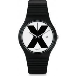 Montre Swatch Unisex New Gent XX-Rated Black SUOB402