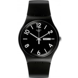 Montre Swatch Unisex New Gent Backup Black SUOB715