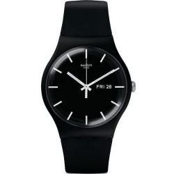 Montre Swatch Unisex New Gent Mono Black SUOB720