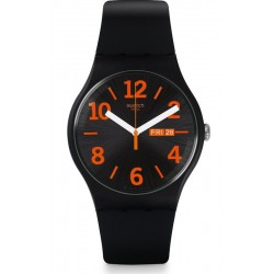 Montre Swatch Unisex New Gent Orangio SUOB723