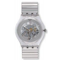 Montre Swatch Unisex New Gent Cleared Up S SUOK105FB