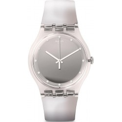 Montre Swatch Femme New Gent Shiny Moon SUOK121